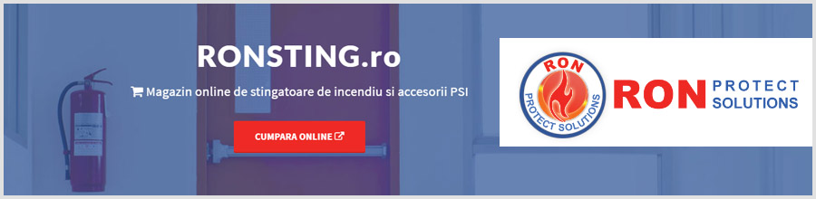 RON PROTECT SOLUTIONS Consultanta situatii de urgenta Bucuresti Logo