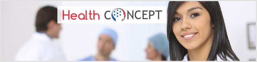 Health Concept Logo