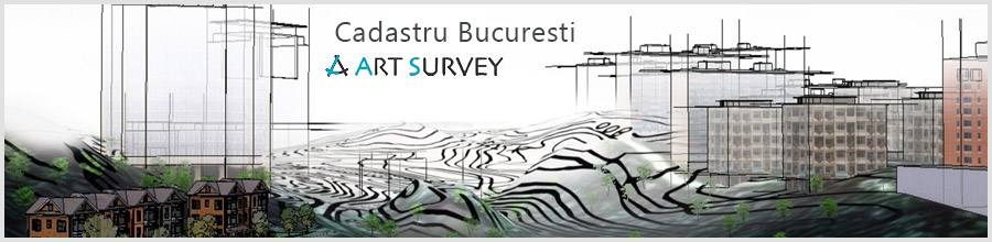 Art Survey Carte funciara, Cadastru Bucuresti Logo