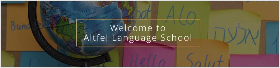 Altfel Language School Logo