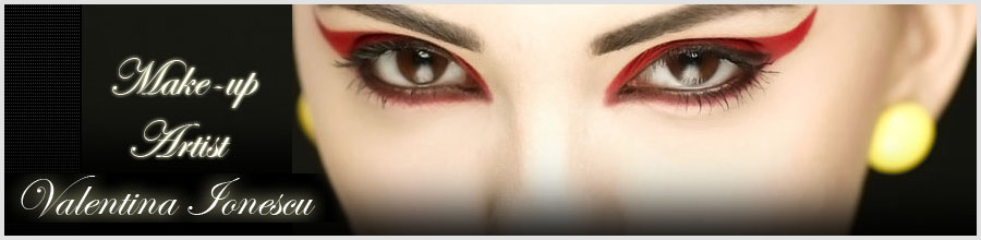 Valentina Ionescu Make-up artist Logo