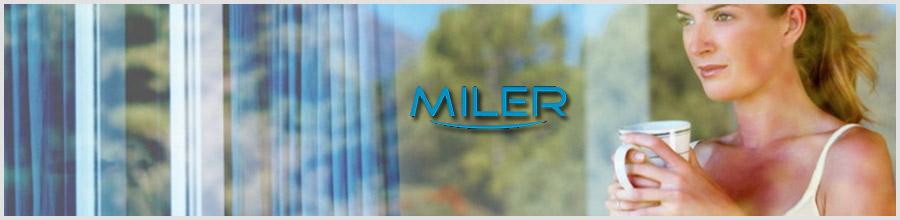 Miller - Tamplarie PVC si geamuri termopan Gealan, Giurgiu Logo