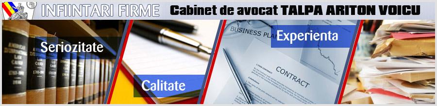 Cabinet de avocat TALPA ARITON VOICU Logo