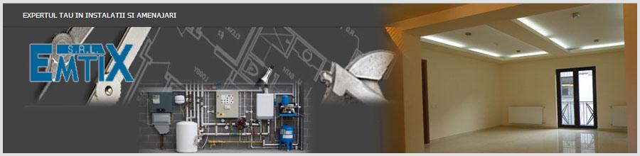 Emtix Bucuresti - Instalatii,constructii,amenajari Logo
