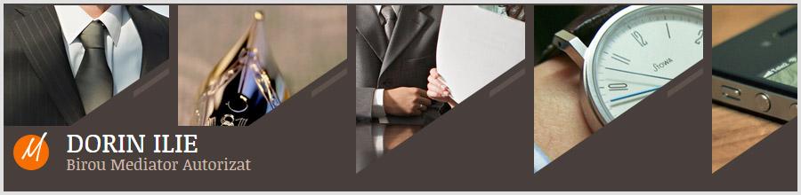 BIROU MEDIATOR DORIN ILIE - Solutionarea litigiilor si conflictelor Logo