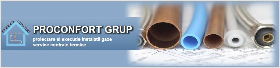 Proconfort Instal Design, Bucuresti - Instalatii si verificari gaze Logo