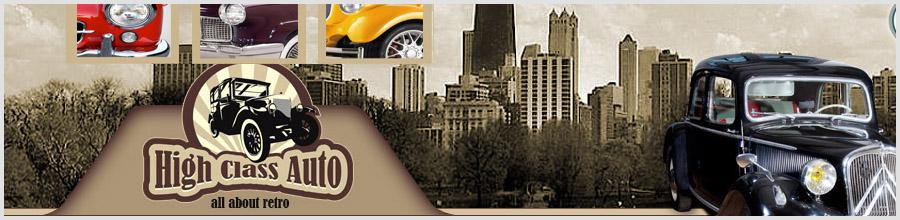 High Class Auto Logo