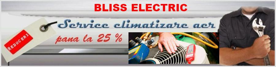 Bliss Electric - Reparatii aer conditionat si frigidere Bucuresti Logo