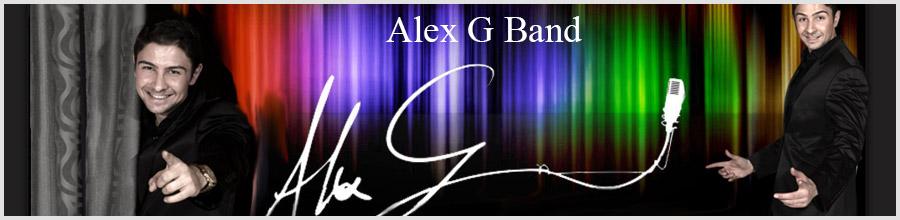 Alex G Band - muzica live pentru evenimente Logo