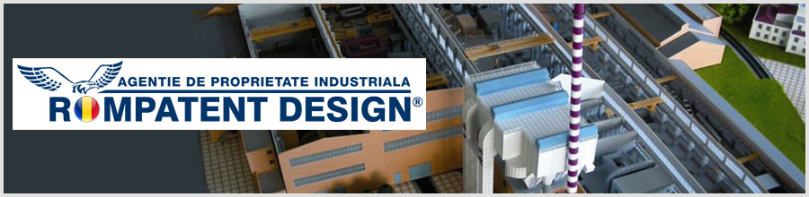 Rompatent Design - Agentie de proprietate industriala Bucuresti Logo