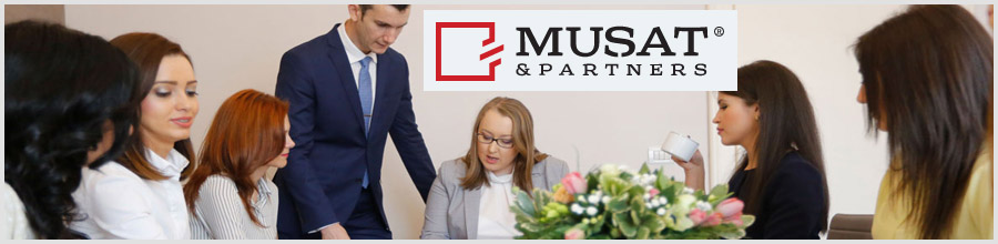 Cabinet Avocatura Musat & Partners Timisoara Logo