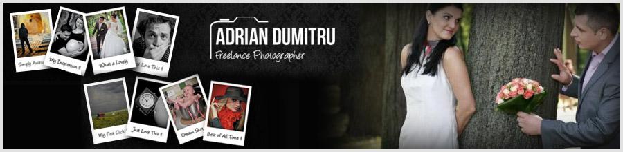 Adrian Dumitru - Fotograf evenimente Bucuresti Logo