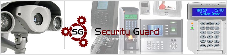 Security Guard Sisteme securitate, automatizari porti Craiova Logo