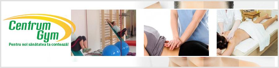 Centrum Gym, recuperare - reabilitare si reumatologie Iasi Logo
