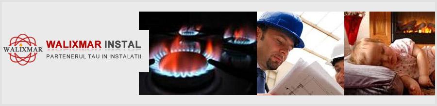 Walixmar Gaz Instal proiectare, executie si verificare instalatii gaze Bucuresti Logo