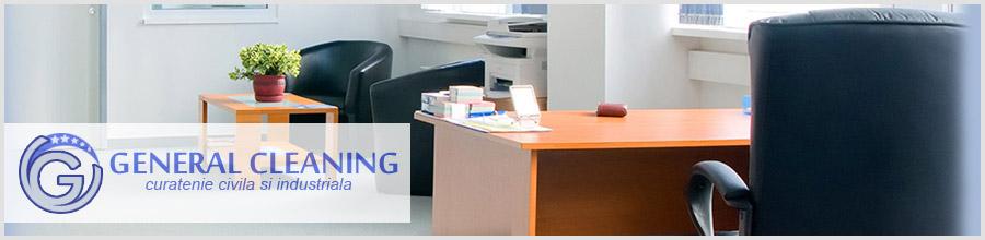 GENERAL CLEANING servicii curatenie Pitesti Logo