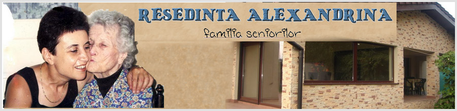 Resedinta Alexandrina - Camin de batrani Tunari, Ilfov Logo