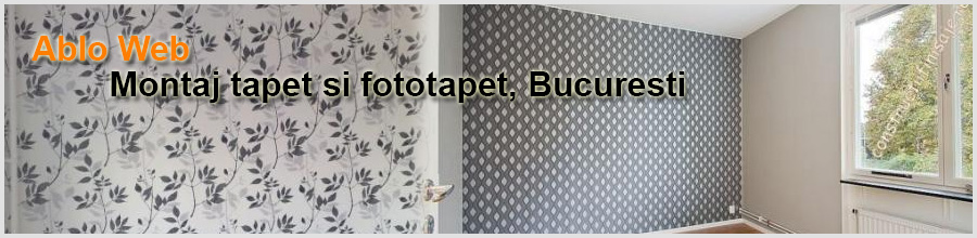 Ablo Constructii Finisaje - Montaj tapet si fototapet Bucuresti Logo