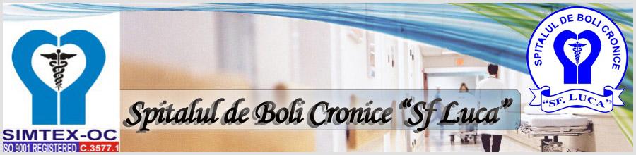 Spitalul de Boli Cronice Sf. Luca Logo