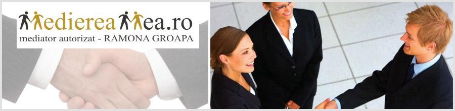 Birou de Mediator Groapa Ramona Logo