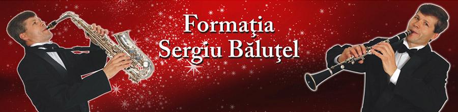 Formatia Sergiu Balutel - formatie muzica evenimente Bucuresti Logo
