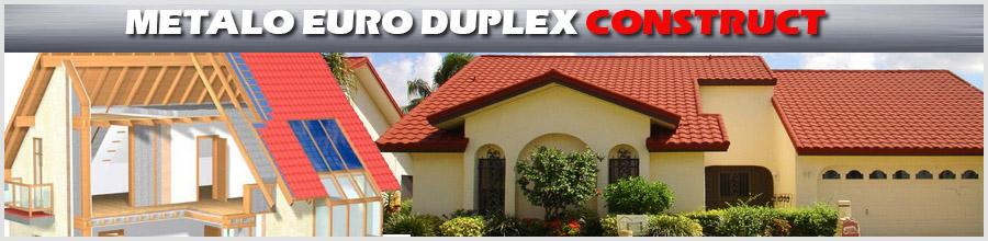 METALO EURO DUPLEX CONSTRUCT Logo