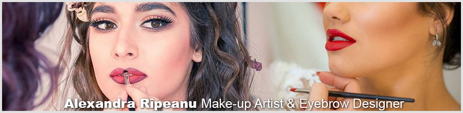 Alexandra C.R. Make-up Artist Logo