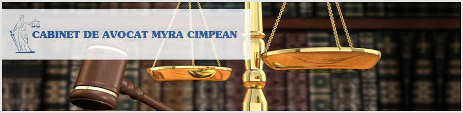 Cabinet de avocat Cimpean Myra Logo