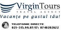 AGENTIA VIRGIN TOURS Logo