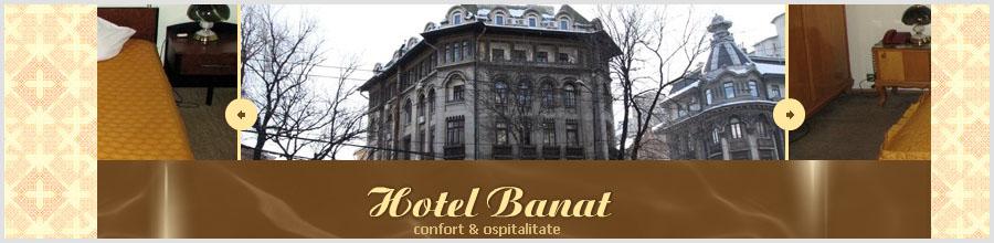 HOTEL BANAT** Logo