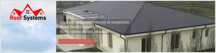 Roof Systems Util, Bacau - Montaj si renovare acoperisuri Logo
