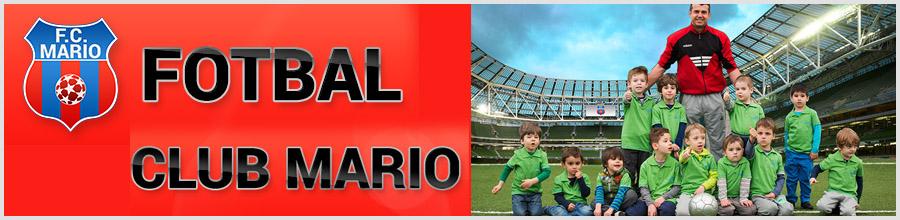FOTBAL CLUB MARIO STEAUA - cursuri initiere si performanta in fotbal Bucuresti Logo