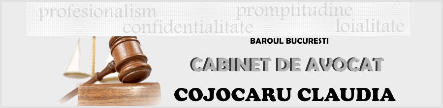 Cabinet de Avocat Cojocaru Claudia Logo