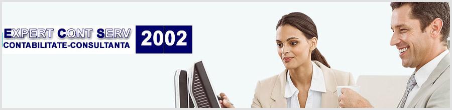 EXPERT CONT SERV 2002 firma de contabilitate , expertiza contabila Bucuresti Logo