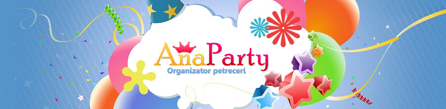 ANA PARTY evenimente si petreceri de copii Bucuresti Logo