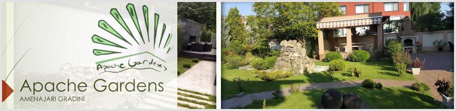 Apache Gardens, Bucuresti - Amenajare si intretinere gradini Logo