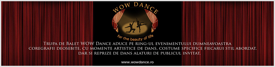 Baletul WOW DANCE Logo