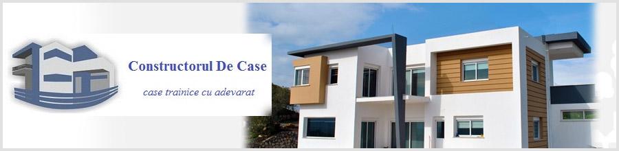 Constructorul De Case, Bucuresti - Case din beton armat si zidarie Logo